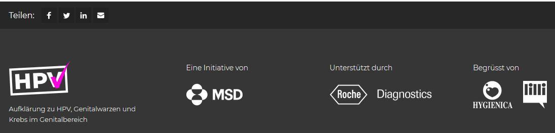 Website hpv-info.ch